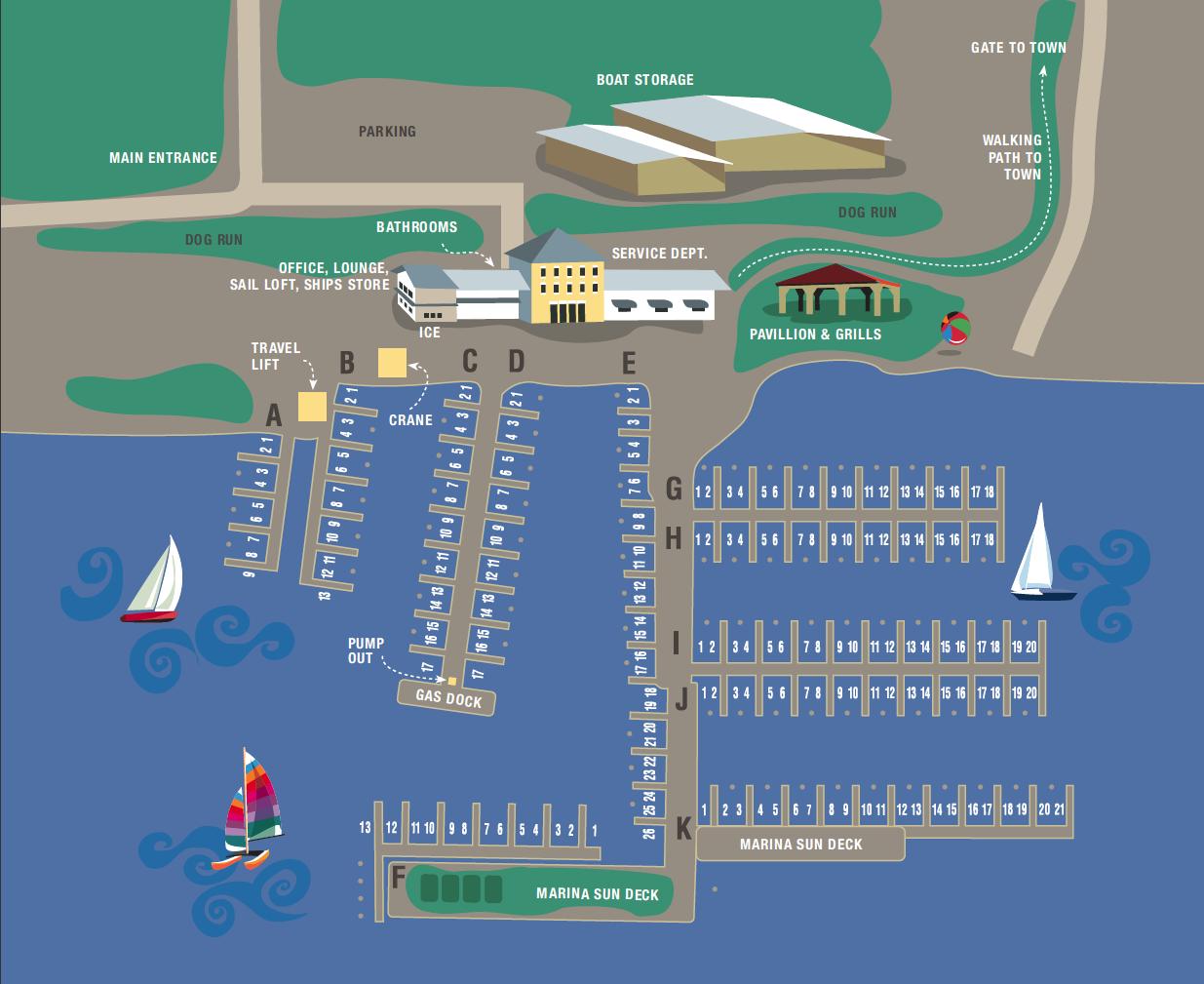 Katlynn Marina Map
